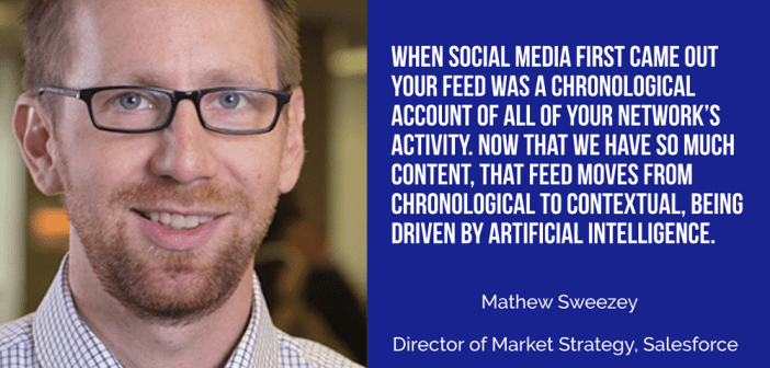 Mathew Sweezey of Salesforce: When the Media Environment Changes, the Definition of Marketing Must Change with It – Small Business Trends